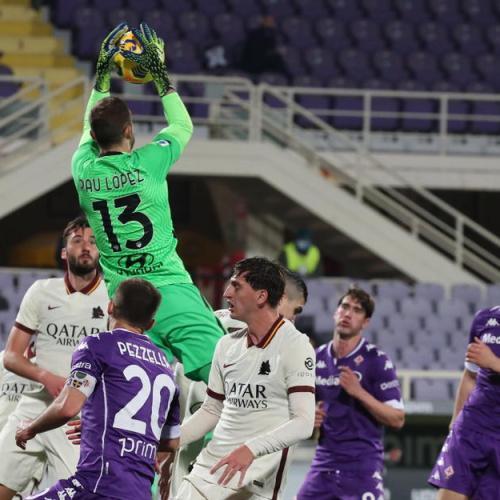 Diawara strikes late to grab win for Roma against Fiorentina