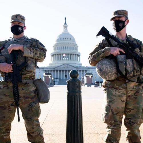Security forces on alert in Washington over possible militia plot to breach Congress