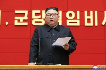 N.Korea's ruling party sets up new post under leader Kim