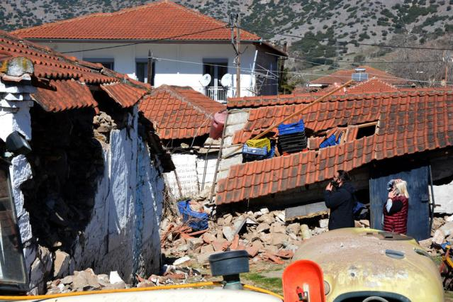 Photo Story: Earthquake aftermath, Greece