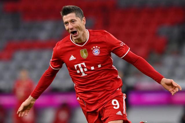 Lewandowski named Germany's footballer of the year