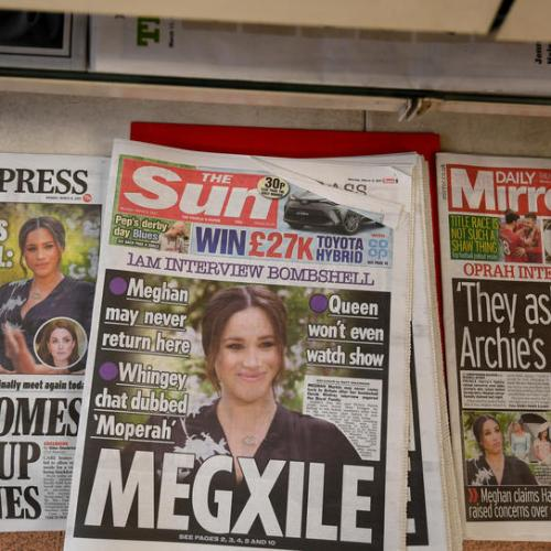 UK's Johnson steers clear of royal racism row after Meghan interview