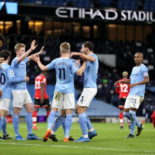 Business as usual as Man City crush Southampton