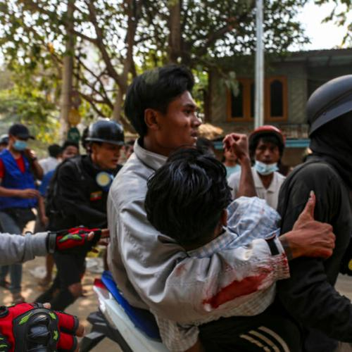 At least 12 killed in protests in Myanmar; civilian vice-president vows resistance to junta