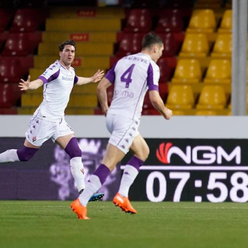 Vlahovic hat-trick fires Fiorentina to win, Udinese earn Genoa draw