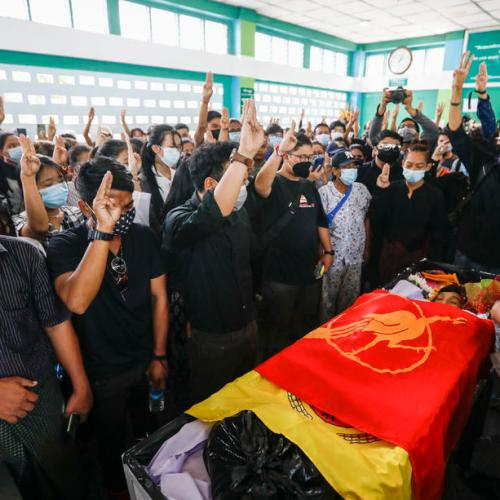 Myanmar Buddhist group signals break with authorities after bloody crackdown
