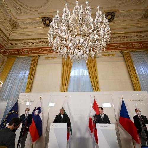 Austria's Kurz and allies seek 'correction' on EU vaccine distribution