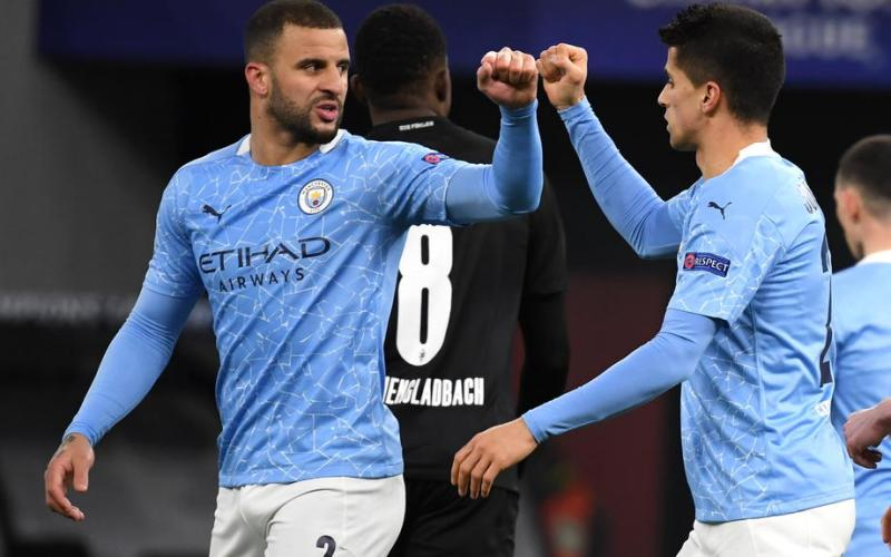 Man City fight back to beat 10-man PSG in first leg