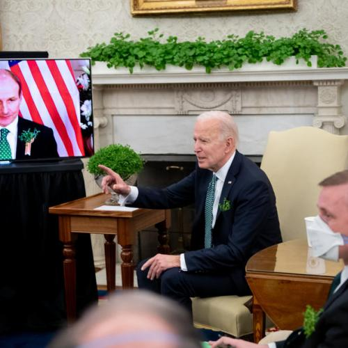 Biden sees critical need to maintain Good Friday agreement for Northern Ireland