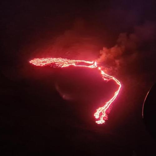 Updated – Volcano erupts near Iceland's capital