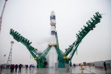 Photo Story – Soyuz-2.1a rocket launch in Kazakhstan