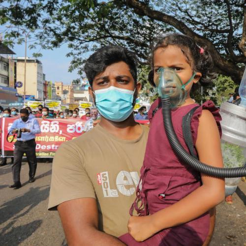 Photo Story – Protest against deforestation in Sri Lanka