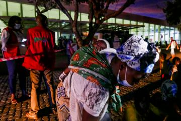Photo Story – Palma displaced people arrive at Pemba