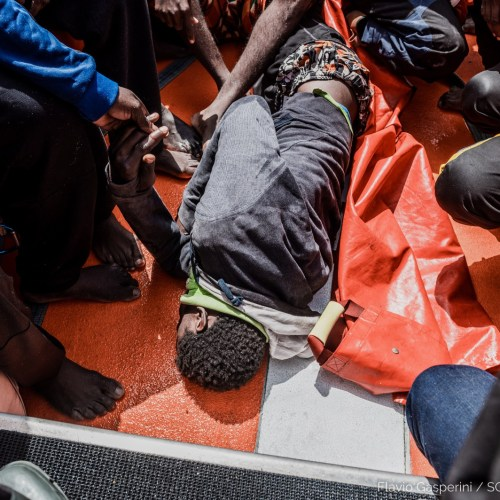 236 persons, including 114 minors rescued off Libya