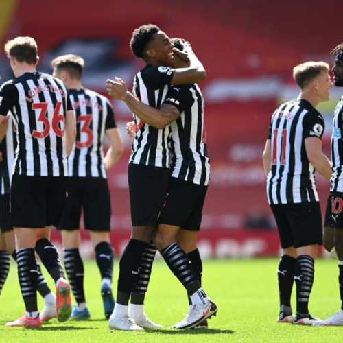 Late Willock strike earns Newcastle 1-1 draw at misfiring Liverpool