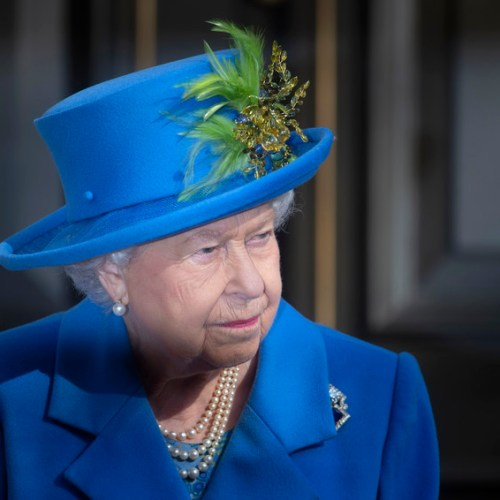 Queen Elizabeth returns to royal duties four days after her husband's death