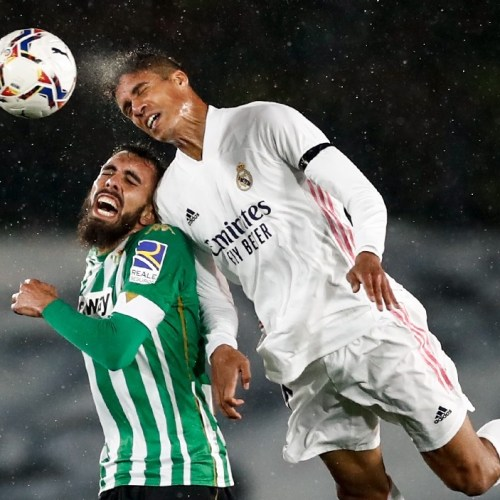 Real Madrid title bid dented again after home draw with Real Betis