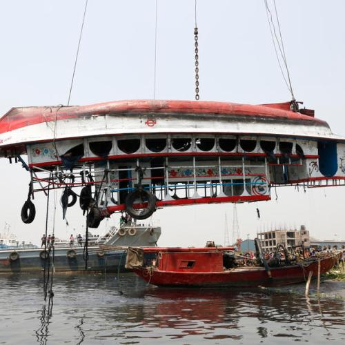 Photo Story: Rescue operation after fatal boat accident in Bangladesh