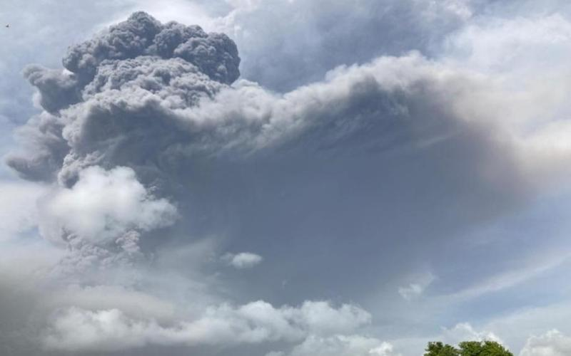 Volcano erupts in southern Caribbean, sparking evacuation