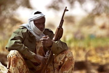 Chadian army battles rebels in northern town