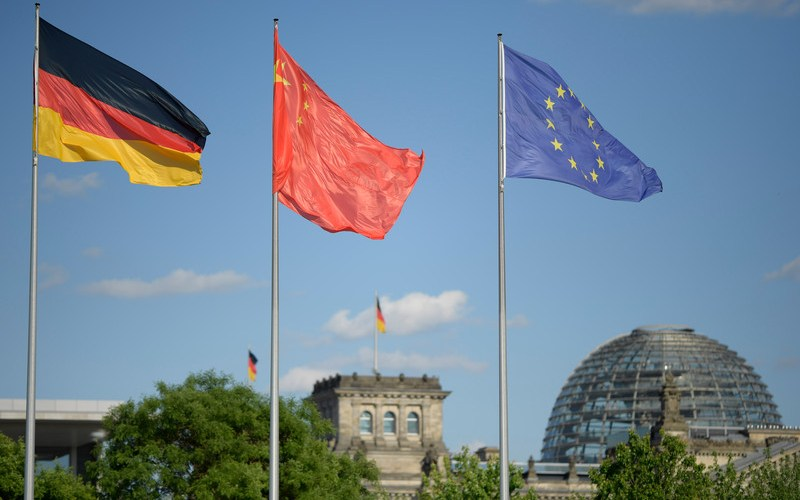 China pulls German trade up, but Brexit hits UK business