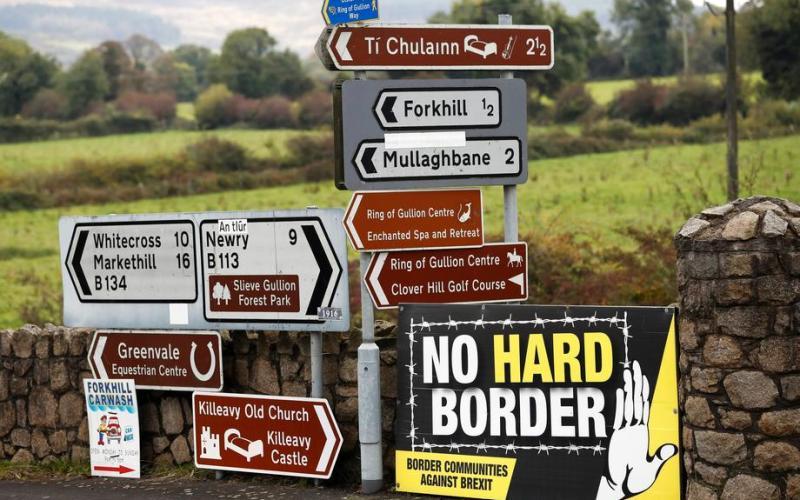 UK calls on EU to show pragmatism over N.Ireland trade