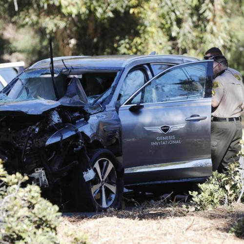 Excessive speed was primary cause of Tiger Woods car crash – LA County Sheriff – Update