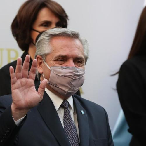 Argentine President Alberto Fernandez says tests positive for coronavirus