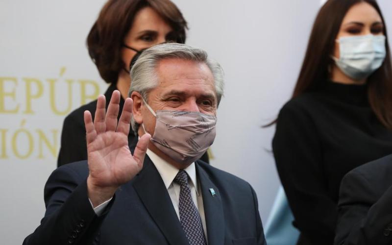 Argentine President Alberto Fernandez says tests positive for coronavirus
