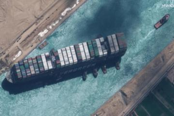 UPDATE – Settlement agreed to release ship that blocked Suez Canal