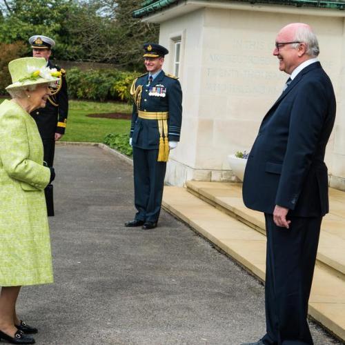 UK's Queen Elizabeth returns to public duties after lockdown