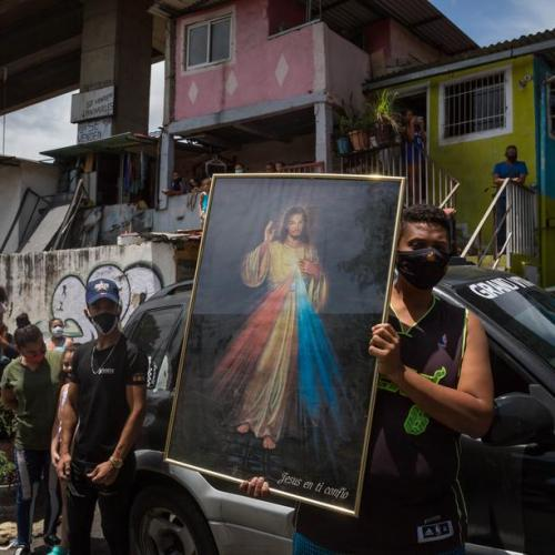Photo Story – Procession of the 'Nazareno de San Pablo' in Caracas