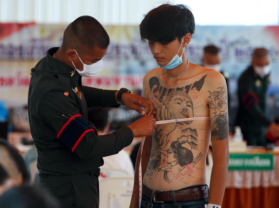 Photo Story – Military conscription draft day in Bangkok