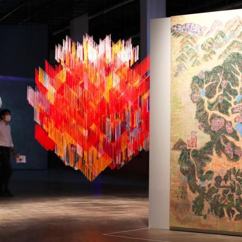 Photo Story – Opening of Gwangju Biennale