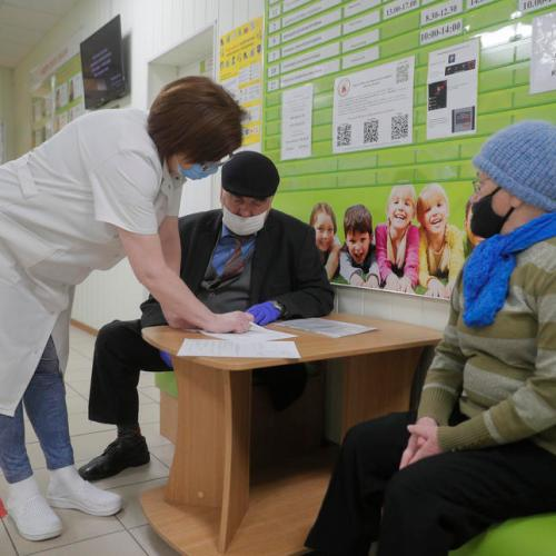 Ukraine approves Chinese vaccine as COVID-19 cases hit new record high