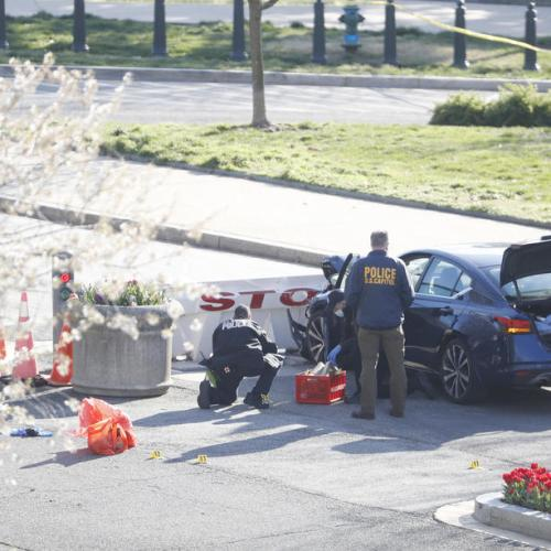 Update – Police officer killed in vehicle attack on U.S. Capitol