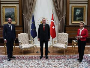 EU's Michel says he's sleeping badly after sofa gaffe in Turkey