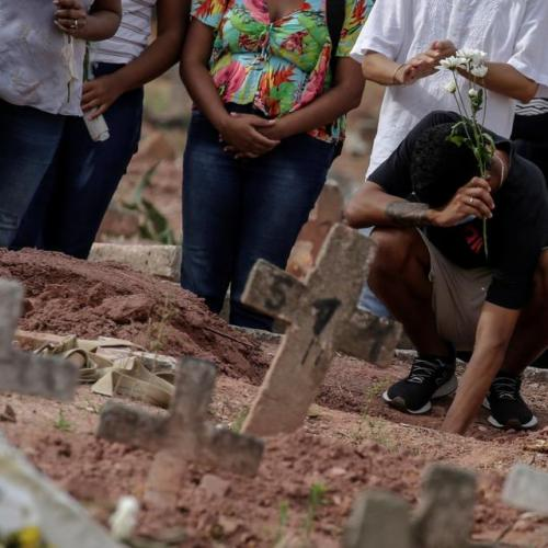 'A biological Fukushima': Brazil COVID-19 deaths on track to pass worst of U.S. wave