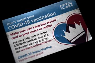 COVID-19 booster vaccine campaign begins in England