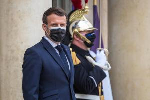 France's Macron says 'clear red lines' should be drawn with Russia