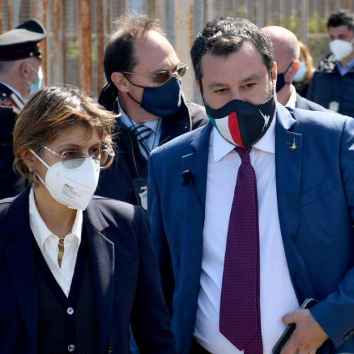 Italy's Salvini sent to trial on migrant kidnapping charge