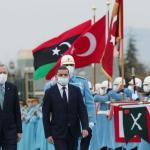Libyan premier Abdul Hamid Dbeibeh visits Turkey