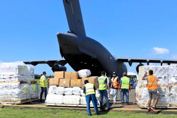 Photo Story – Supplies for flood victims arrive in East Timor