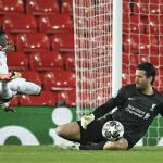 Liverpool's Alisson, Fabinho back for Atletico game, but Thiago still out