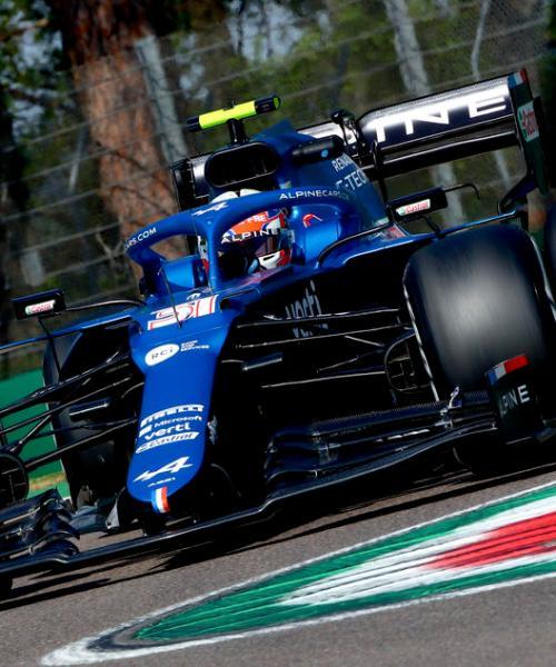 Perez and Ocon clash as Mercedes lead Imola practice