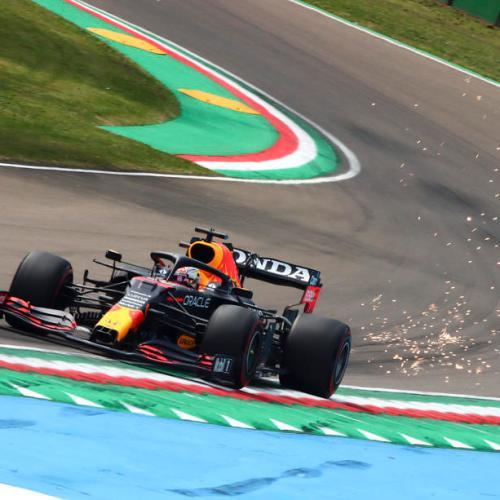 Verstappen quickest in final practice at Imola