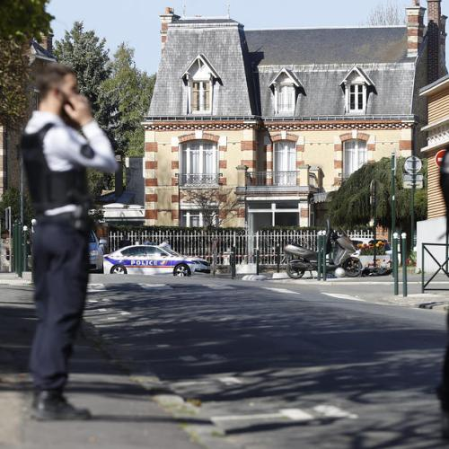 French police worker's killer watched jihadist videos just before attack – prosecutor