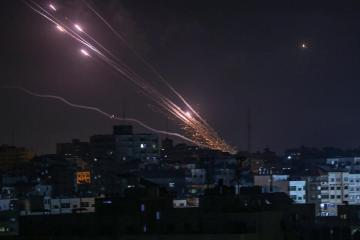 Biden predicts conflict's end as Hamas hits deep in Israel, which pummels Gaza