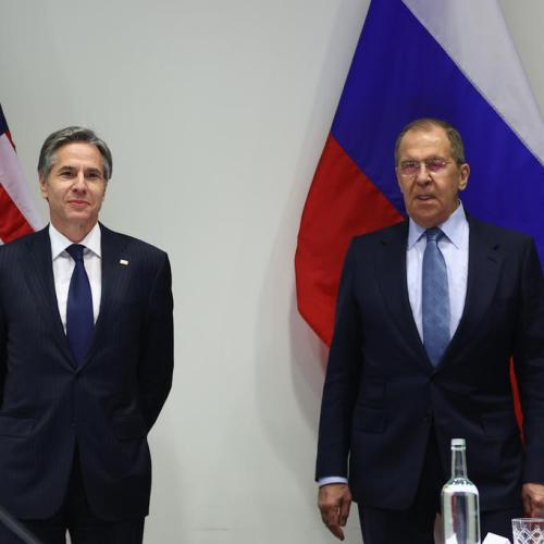 Blinken, Lavrov agree to work together despite differences