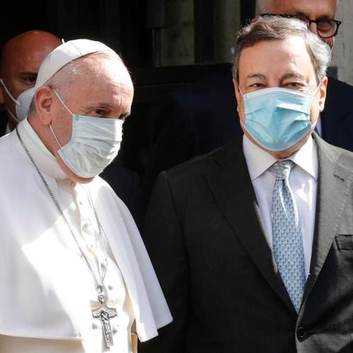 Italy's Draghi puts Vatican on guard over anti-homophobia bill